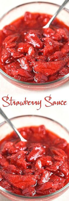 Strawberry Sauce Recipe. #CompleteRecipes #recipe #recipes #food #foodgasm #cleaneating #healthyfood #healthy #healthyrecipes #strawberry#sauce