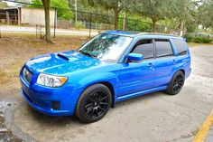 KYB on Forester Swifts FS: (For Sale) FS: 2007 Subaru Forester XT Sport World Rally Blue - Subaru Forester Owners Forum