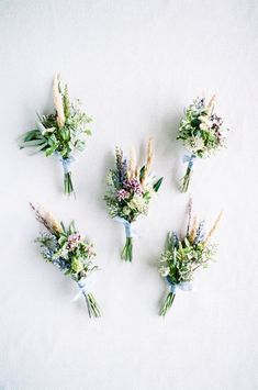 A Romantic, Bohemian Backyard Wedding in Armada, Michigan Boutonnieres, Friends Set, Ranunculus, Summer Wedding, Real Weddings, Bohemian, Backyard, Romantic
