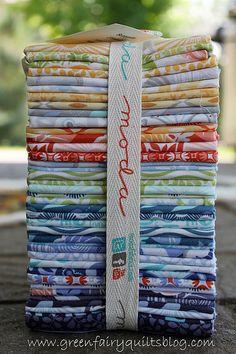 Sunnyside by Kate Spain for Moda Fabrics.  I love this fabric!