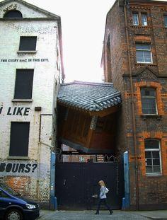 La maison qui flottait...