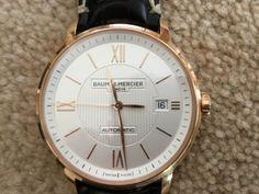men's baume mercier watch