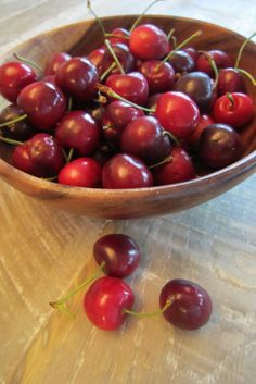 Cherries in Red Wine Syrup Recipe