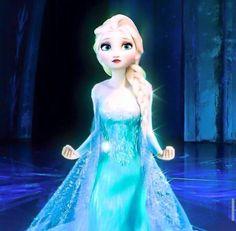 Queen Elsa.