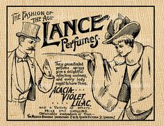 Antique Advertisement of Perfume Violet Lilac by debsvintageprints, $1.95