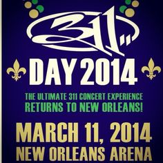 311 Day 2014!  NOLA!!