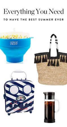 Everything You Need to Have the Best Summer Ever via @PureWow via @PureWow
