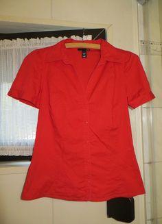 Kaufe meinen Artikel bei #Kleiderkreisel http://www.kleiderkreisel.de/damenmode/blusen/117679214-schone-rote-bluse-von-hm