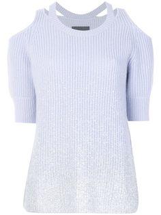 Shop Zoe Jordan Aristotle knitted top.