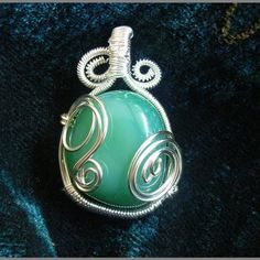 Instant Download Jewelry TUTORIAL Pendant Necklace  Wire Wrap Pendant  No 22