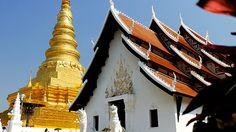 Buddhist Temple Wat Phra That Chae Haeng