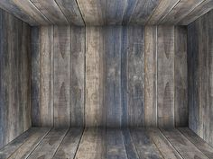 Wood Room Interior Background For Photoshop Free