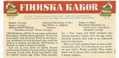 Finnish recipe