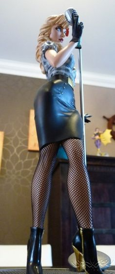 [DC Collectibles] Black Canary DC Bombshells Statue Review