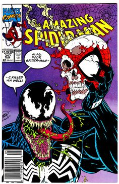 Amazing Spider-Man # 347  May 1991 Cover art by Erik Larson