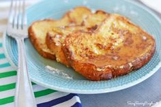 The Best Gluten Free French Toast Made with Almond Milk! So delicious and much healthier!