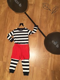 DIY Strongman Halloween Costume with Under the Nile Long Johns