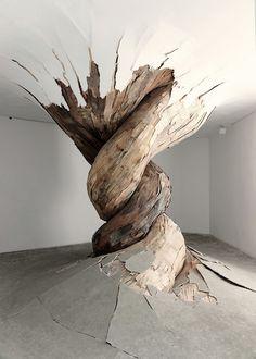 Henrique Oliveira | 'Desnatureza' | 2011 | http://www.henriqueoliveira.com/