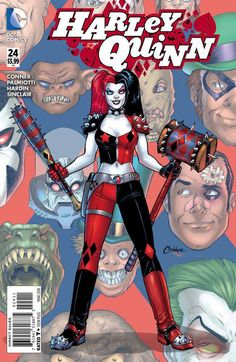 *High Grade* (W) Amanda Conner, Jimmy Palmiotti (A) Chad Hardin (CA) Amanda Conner Harley's got an endangered friend to save, but there's just one problem: she's got to get through Arkham Asylum first