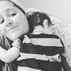 Ask and you shall receive....I asked for a hug and he just curled right up on me! #lovemylittleguy #momlife by marisaramseyhealthyliving