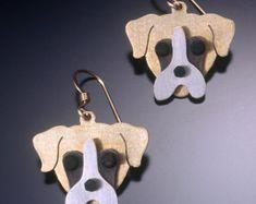 520d3b740 Boxer Jewelry - Boxer Earrings - by Anita Edwards Animal Jewelry, Dog  Jewelry, Dog