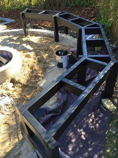 Bålplads i haven – Sjove arbejdsdage Ponds Backyard, Fire Pit Backyard, Backyard Landscaping, Fire Pit Pergola, Beautiful Home Gardens, Hot Tub Garden, Fireplace Garden, Landscape Architecture Design, Outdoor Fire
