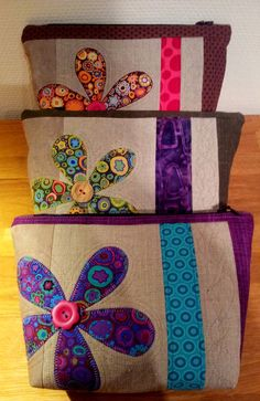 Liv i hus: Ny toalettmappe - med gratis oppskrift! A new pouch - with tutorial…
