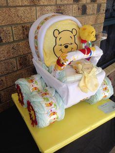 Aktuellste Kostenlos winnie the pooh babyshower Konzepte, Baby Shower Crafts, Baby Shower Niño, Baby Shower Diapers, Baby Shower Gender Reveal, Baby Crafts, Baby Shower Themes, Baby Shower Decorations, Shower Ideas, Disney Babys