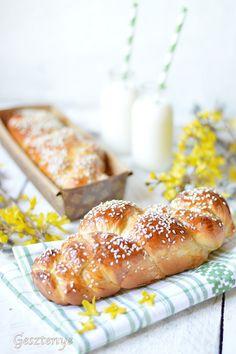 Blundeltészta - Fahéjas csigák - Kifőztük, online gasztromagazin Ring Cake, Hot Dog Buns, Scones, Doughnut, My Recipes, French Toast, Muffins, Sweets, Breakfast