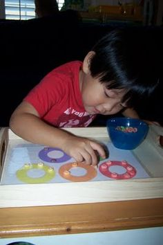 Free preschool printables for Montessori activity trays! (Math, Pre-language,etc)