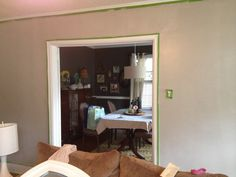 Amazing gray- after pic of living room