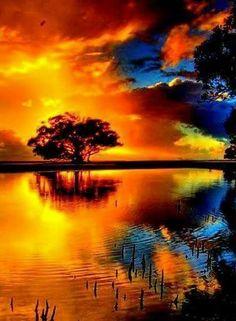 'Corio Bay Sunset' by Sam Sneddon. Yep another photo I took looking across Corio Bay. Image Nature, All Nature, Amazing Nature, Nature Pictures, Cool Pictures, Cool Photos, Beautiful Pictures, New Backgrounds, Beautiful Sunrise
