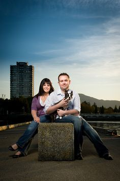 Nanaimo British Columbia by Greg Howard Photography - Court & Keiko, this is adorable!