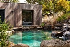 landscape photo Your neighbour has put in a brand-new pool so what did it actually cost? We give you the budget and the background on six swoon-worthy swimming pool designs. Swimming Pool Cost, Amazing Swimming Pools, Luxury Swimming Pools, Swimming Pool Designs, Cool Pools, Luxury Pools, Dream Pools, Natural Swimming Ponds, Small Pools