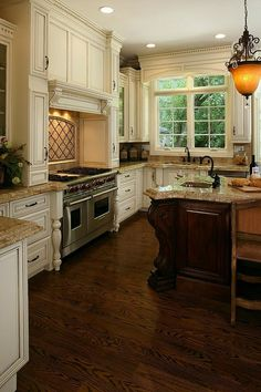 Kitchen Ideas Off White Cabinets 27 antique white kitchen cabinets [amazing photos gallery