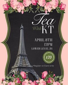 The Kappa Tau Chapter of Alpha Kappa Alpha Sorority, Inc. presents their first Tea with KT Tea Party! Join us in the University of West Georgia's Lower Level Z6 Dining Hall on April 8th, 2017 at 12:00 pm to celebrate high tea in Paris. Bring your table manners and biggest hat as we host an event worth talking about. Dress code will be strictly enforced, so be sure to wear your classiest High Tea attire! We've prepared a hand-picked menu along with a special surprise for our special guests…