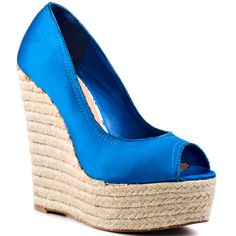 Heidi - Blue Satin, Cece Lamour, 139.99, FREE 2nd Day Shipping!