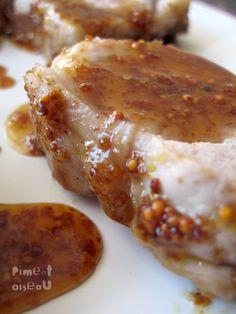 Filet mignon miel moutarde (trop bon)