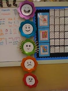 Behavior Chart (Could have velcro on each clip so that students could velcro on the corresponding # to action. 1 = Speaking/acting without respect, 2 = Not keeping body/objects to self, etc. Classroom Behavior Chart, Classroom Discipline, Behaviour Chart, Classroom Setup, Kindergarten Classroom, Future Classroom, Classroom Activities, Classroom Organization, Classroom Management