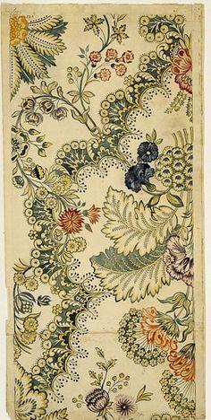 18th c.textile design.