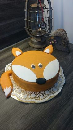 Fuchs Topfen Torte OKT2015 #fox #cake