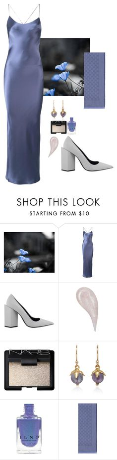 """""""Neveah"""" by chelsofly ❤ liked on Polyvore featuring Gilda & Pearl, Pierre Hardy, NARS Cosmetics, Annette Ferdinandsen, Gucci, heaven and slateblue"""