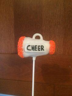 Cheerleading, Cheerleader Cake Pop www.facebook.com/CakePopsByDanielle
