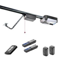 SOMMER - HP Direct Drive Garage Door Opener - Lifetime warranty on the entire unit and two years on all accessories. rail for 7 ft. The direct drive is stronger than a chain drive and quieter. Quiet Garage Door Opener, Door Gym, Garage Door Opener Installation, Best Garage Doors, Appliance Garage, Contemporary Kitchen Design, Arched Windows, Lowes, Shopping