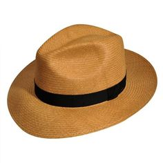 0eaa14e0c00 Bailey - Blackburn Shantung Straw Fedora