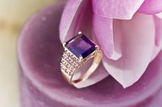#Amethyst #ring in 10k YG for $279.99