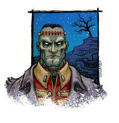 Seven Soldiers Frankenstein - Tim A. Odland
