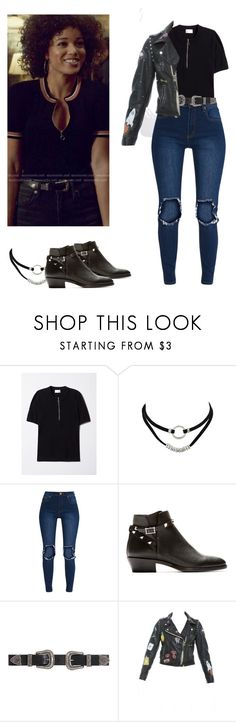 """""""Maia Roberts - shadowhunters"""" by shadyannon ❤ liked on Polyvore featuring Valentino, B-Low the Belt and P.A.R.O.S.H."""
