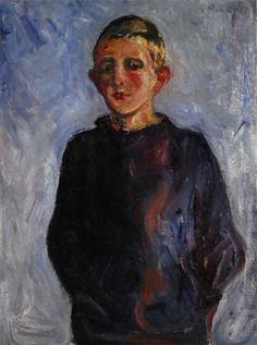 Edvard Munch - Garçon de Warnemünde, 1907