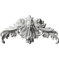 Ekena Millwork ONL17X07X01ED-L Onlay Factory Primed